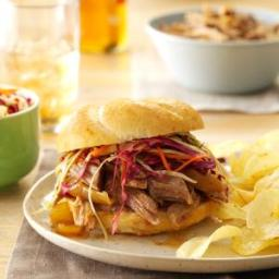 Sweet and Spicy Pulled Pork Sandwiches Recipe