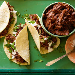 Sweet and Spicy Short Rib Tacos
