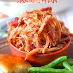 Sweet Brown Sugar Baked Ham