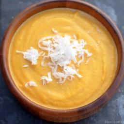 Sweet Coconut-Butternut Crockpot Soup