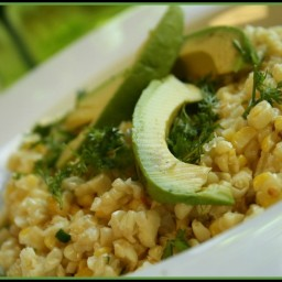 Sweet Corn, Avocado and Cilantro