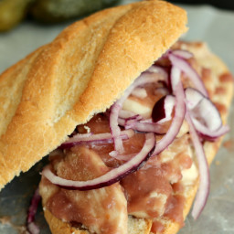 Sweet Onion Chicken Sub Sauce