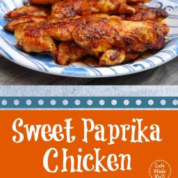 Sweet Paprika Chicken
