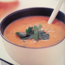 Sweet Potato And Coriander Soup