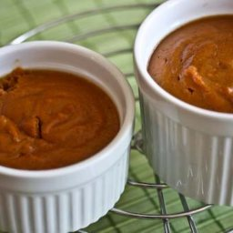 Sweet Potato and Ginger Pudding