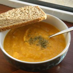 Sweet Potato And Parsnip Soup