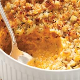 Sweet Potato and Sage-Butter Casserole