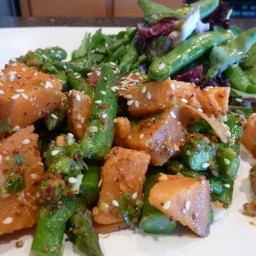 Sweet Potato Asparagus Salad