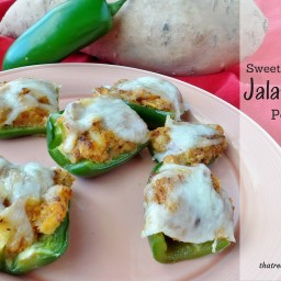 Sweet Potato Jalapeno Poppers