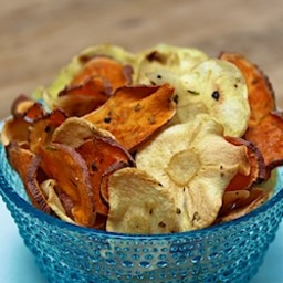 Sweet Potato & Parsnip Chips