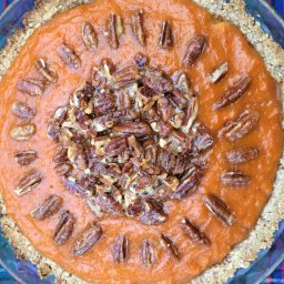 Sweet Potato Pecan Pie (gluten free)