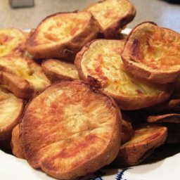 Sweet Potato Thick Chips