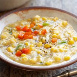 Sweet Summer Corn Soup