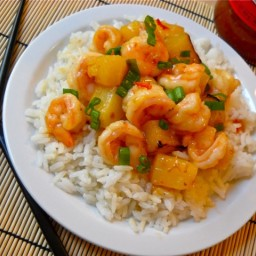 sweet chili shrimp