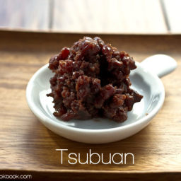 Sweet Red Bean Paste (Tsubuan) Recipe