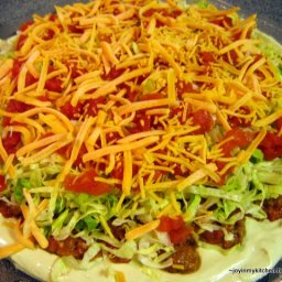 Taco Pizza Dip