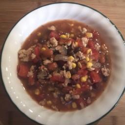 Taco Soup with Ground Turkey