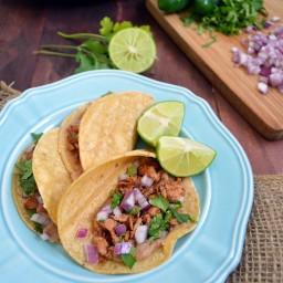 Tacos de carnitas de atún – menos de 15 minutos