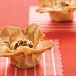 Tartelettes à l'érable et aux noix