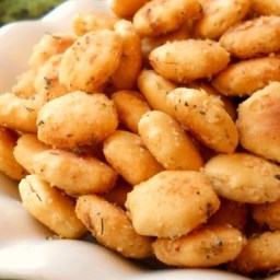 Tasty Seasoned Oyster Crackers