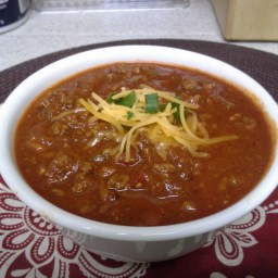 TBC's Spicy Beanless Chili