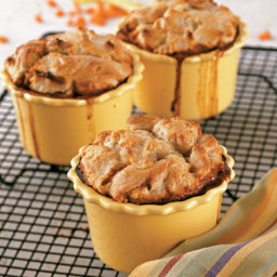 Tempeh and Eggplant Pot Pies