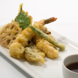 Tempura Shrimp and Vegetables