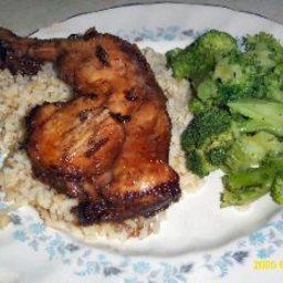 Teriyaki Beef or Chicken
