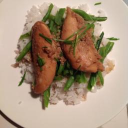 Teriyaki Chicken with Ginger Rice