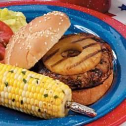 Teriyaki Turkey Burgers Recipe