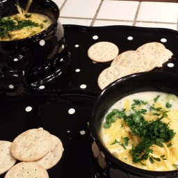 TGIF's Broccoli Cheese Soup