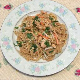 Thai Noodles with Chicken