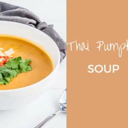 Thai Pumpkin Soup with Coconut Milk
