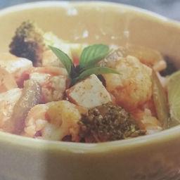 Thai Red Curry and Tofu Veggies