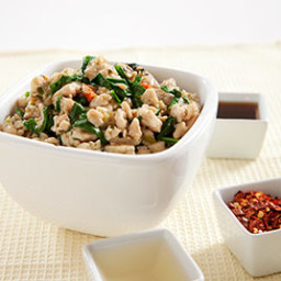 Thai-Style Chicken with Basil