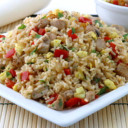 Recipes Course Main Dish Stir-Fries Fried Rice Thai Style Fried Rice