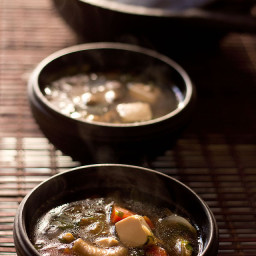 thai veg tofu soup recipe