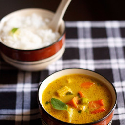 thai yellow veg curry recipe
