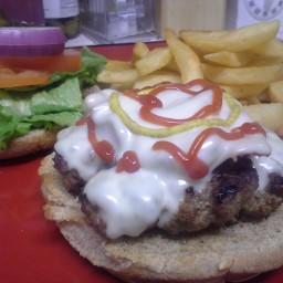 The All-American Hamburger