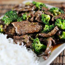 The Best Broccoli Beef