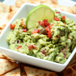 the best chunky guacamole ever! <3 :)