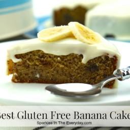 The Best Gluten Free Banana Cake Ever!!