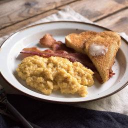 The Best Scrambled Eggs