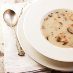 The Classics: Cream of Mushroom Soup