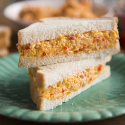 The Lee Brothers' Pimento Cheese