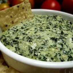 The Naughtiest, Most Delicious Spinach-Artichoke Dip