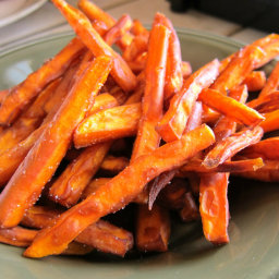 The PERFECT sweet potato fries