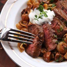 The Utimate Beef Stroganoff