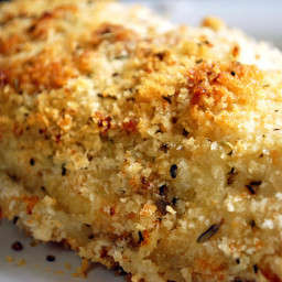 The World's Moistest Parmesan Crusted Baked Chicken