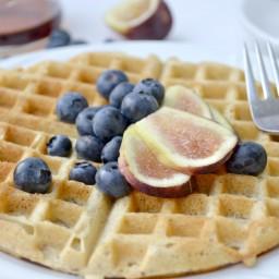 The Best Gluten-Free Vegan Waffle